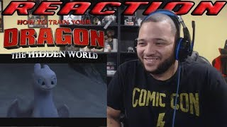 HOW TO TRAIN YOUR DRAGON: THE HIDDEN WORLD | Official Trailer 2 | REACTION!!