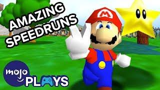 The Most Amazing Video Game Speedruns