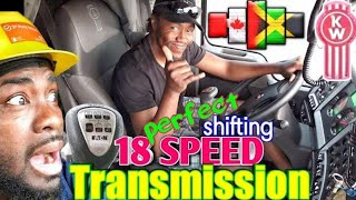 How To Shift an 18 Speed Transmission Nice & Easy/ Yard man Style.