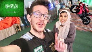 اول بنت سعودية تسوق دباب ماشاءالله!!