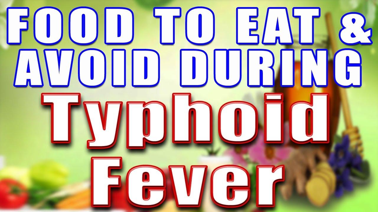 Typhoid Food To Eat