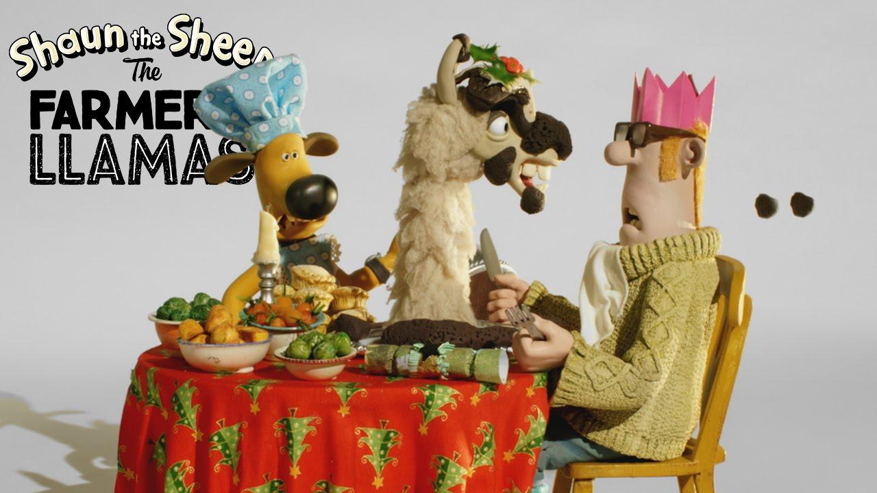 Shaun the Sheep: Christmas Dinner - YouTube