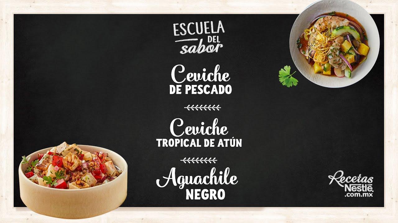 Facebook Live: Ceviches y Aguachile