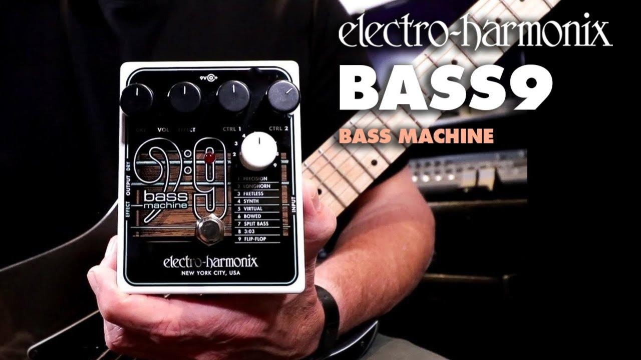 EHX Releases the BASS9 Polyphonic Bass Machine   Reverb News