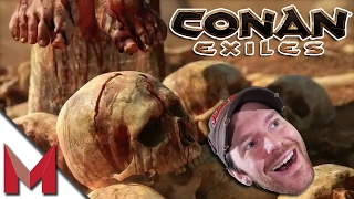 CONAN EXILES GAMEPLAY PART 1! -=- LET'S PLAY! -=- Ep1