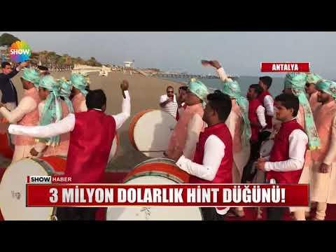 3 Milyon Dolarlık Hint Düğünü!