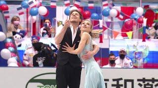 Виктория Синицина Никита Кацалапов Ритм танец Командный чемпионат мира по фигурному катанию