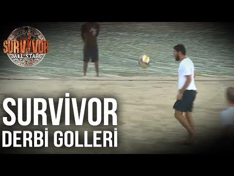 Adada Oynanan Futbol Maçlarında Atılan En İyi 10 Gol - Survivor All Star (6.Sezon 96.Bölüm)