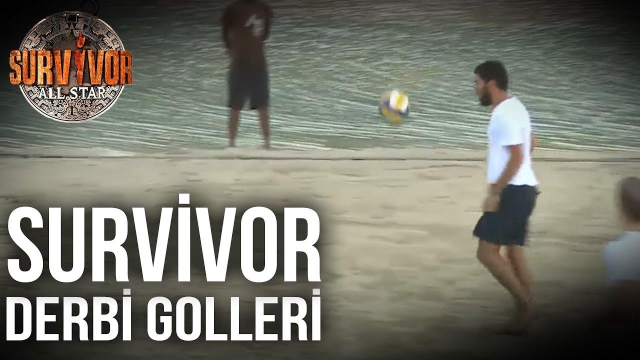 Ada Derbilerinde Atılan En İyi 10 Gol | 96.Bölüm | Survivor All Star 2015