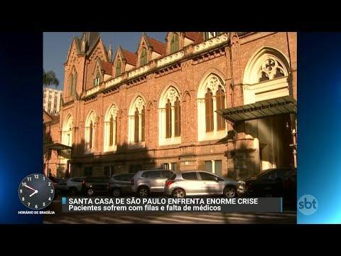 Pacientes denunciam demora no atendimento na Santa Casa de SP | Primeiro Impacto (03/11/17)