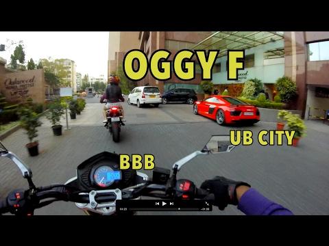 MET OGGY F : LAVELLE ROAD : UB CITY : HINDI + ENGLISH VLOG