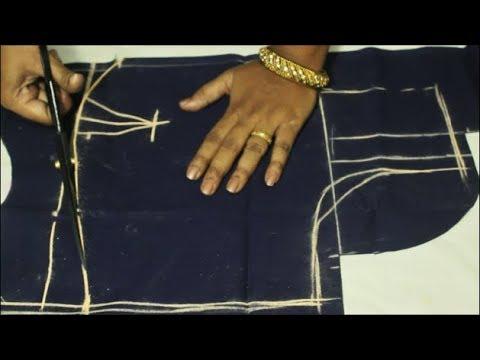 Blouse Cutting Stitching VIDEO