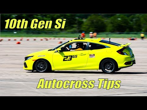 Civic Si Tips to Drop Autocross Times