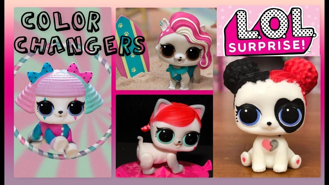 Which Lol Pets Color Change Lol Surprise Series 3 Pets