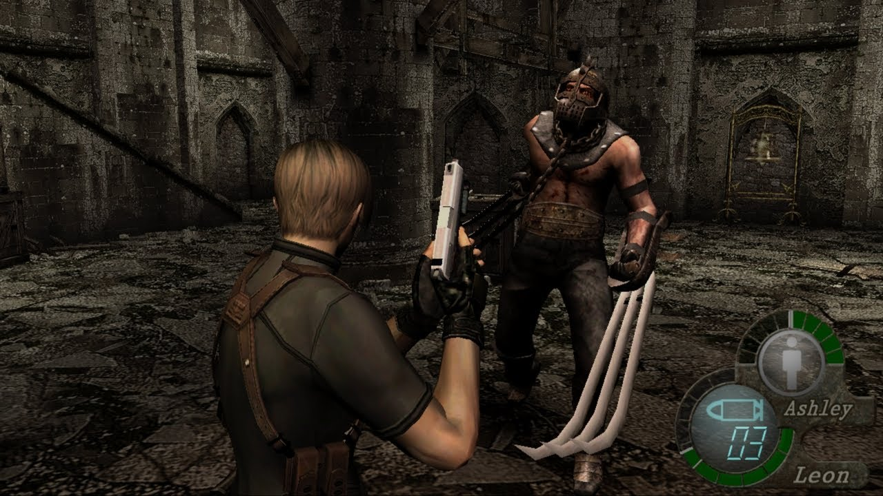 Resident Evil 4 with HD Texture Pack