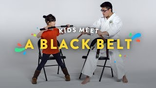 Kids Meet a Black Belt | Kids Meet | HiHo Kids