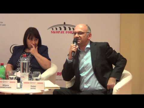 CRPM Skopje Forum 2014 Panel 2: The future of the Balkans. p