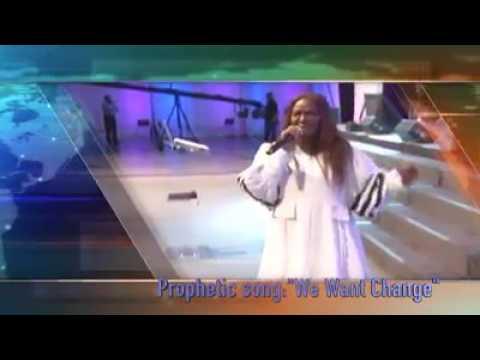 Juanita Bynum  We want Change