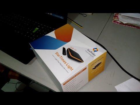 Unboxing Startimes Light SD (Standard Definition) Mini Orange DVBT2 Decoder