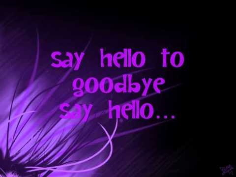 Shontelle - Say hello to goodbye (Lyrics)