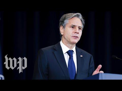 WATCH LIVE: Blinken testifies before Senate about Afghanistan withdrawal