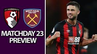 Bournemouth v. West Ham | PREMIER LEAGUE MATCH PREVIEW | 1/19/19 | NBC Sports