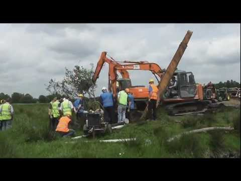 30 Ton Atlas 1702 Excavator Pull Preparations on Drumlinmedia an Irishwebtv.com Media Group