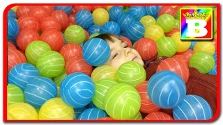 Toyland   Loc de joaca cu bilute colorate si baloane la Bogdan`s Show