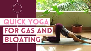 Yoga for Gas and Bloating