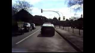 Fahrt durch Aurich Anno 1988