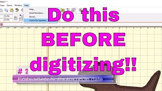 Embroidery Digitizing:  10 Things to do BEFORE you start a project! 😃
