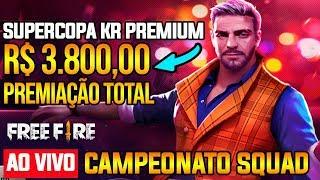 PREMIUM 11 - CAMPEONATO SQUAD - R$ 3.800,00 - AO VIVO