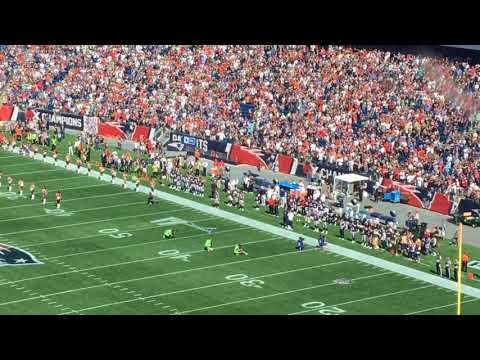 New England Patriots booed in Gillette Stadium