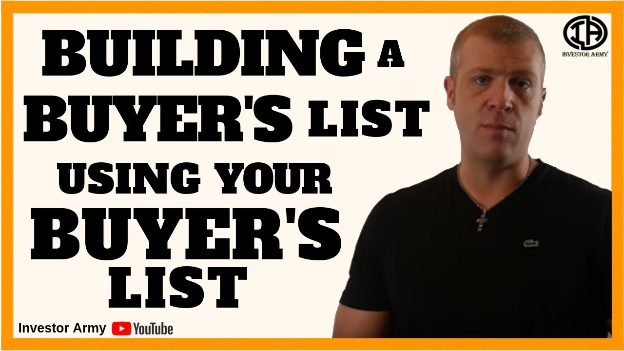 Building a Buyer's List Using Your Buyer's List???