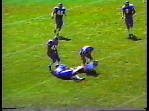 1999 Philadelphia High School Football: LaSalle Explorers Highlight Film