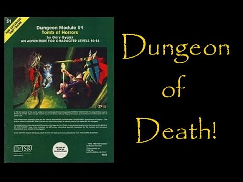 Retro RPG review 7: The Tomb of Horrors
