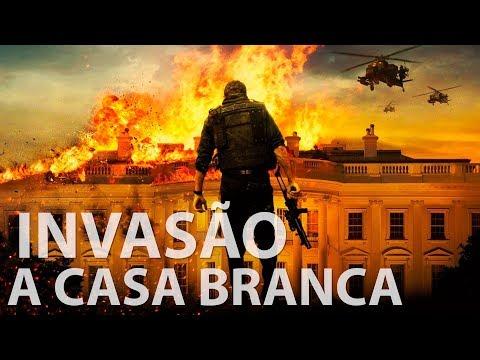 Invasão a Casa Branca l Duas Dublagens (DVD/ Blu-ray e TV Paga/ Netflix)