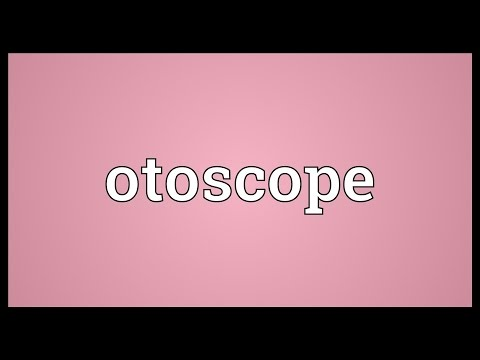 Otoscope Meaning