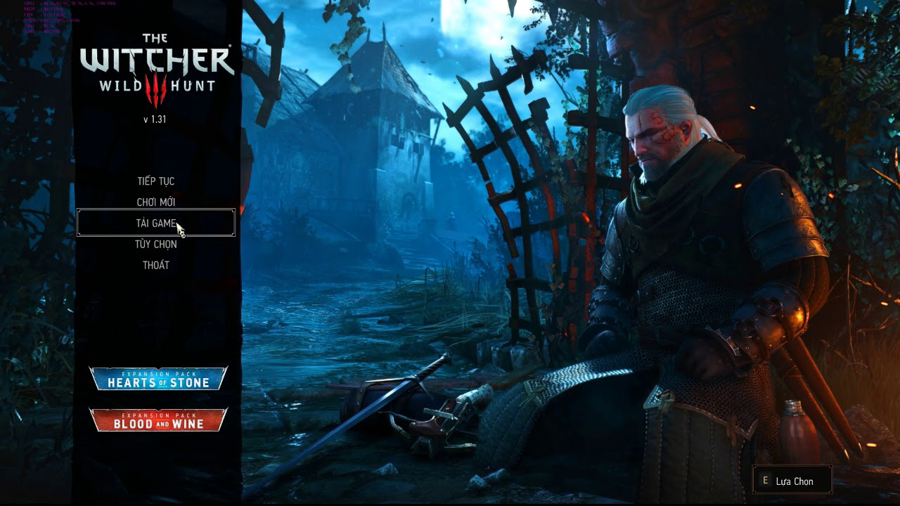 Việt Hóa Game The Witcher 3 [PC] Full Game