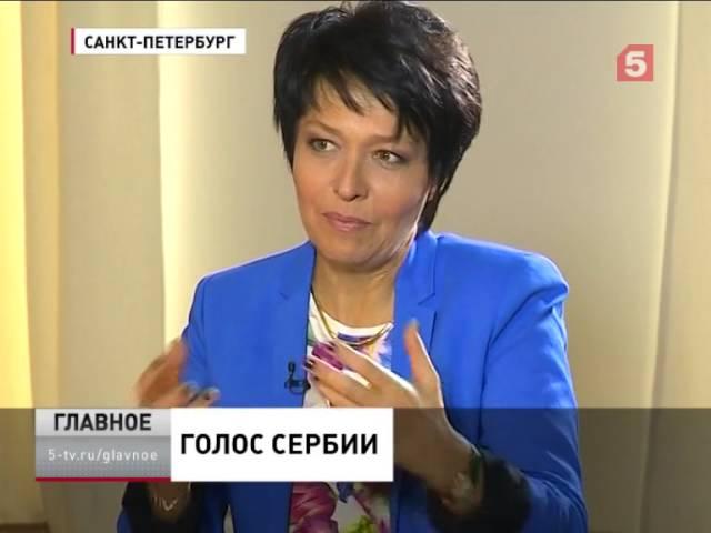 """Интервью президента Сербии Томислава Николича программе """"Главное"""""""