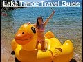15 AMAZING Things to do in Tahoe South // Lake Tahoe Summer Travel Guide