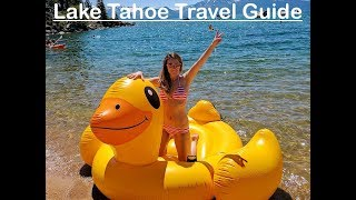 Video 15 AMAZING Things to do in Tahoe South // Lake Tahoe Summer Travel Guide download MP3, 3GP, MP4, WEBM, AVI, FLV Oktober 2018
