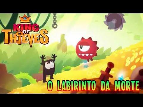 King of Thieves  O Labirinto da Morte  GAMEPLAY