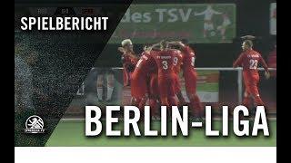 TSV Rudow - SV Sparta Lichtenberg (1. Spieltag, Berlin-Liga)