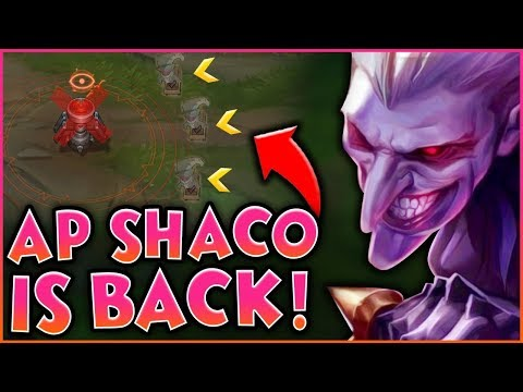 RED TRINKET NERFED! AP SHACO IS BACK!