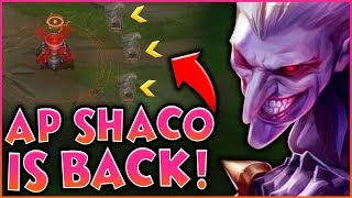 RED TRINKET NERFED! AP SHACO IS BACK!