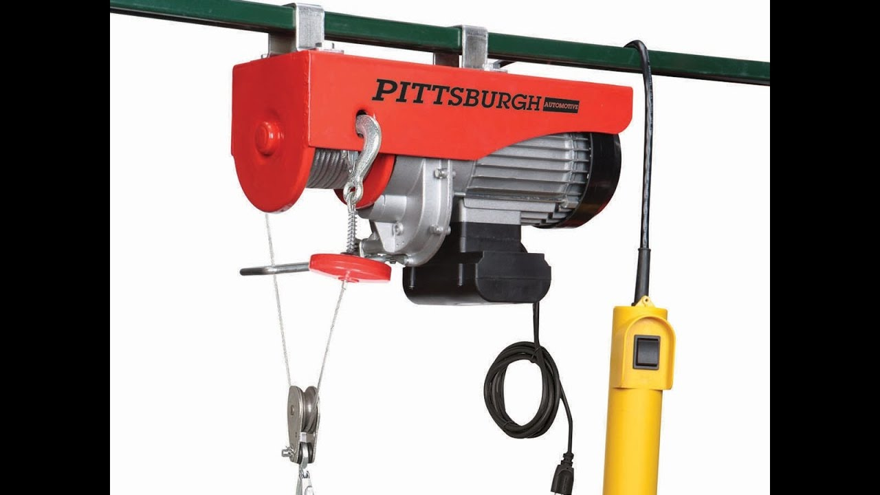 small resolution of harbor freight electric hoist compressor lift