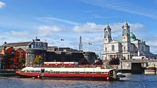 Cruise the River Shannon in Ireland aboard Hotel Barge Shannon Princess | European Waterways