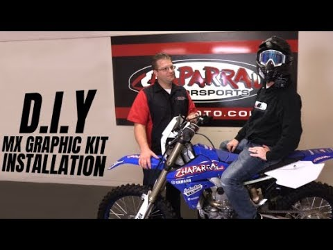 DIY - Dirt Bike Graphic Kit Step-by-Step Installation for Suburban Delinquent