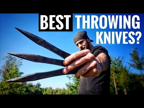The BEST Throwing Knives in The World? (World Champion Test)
